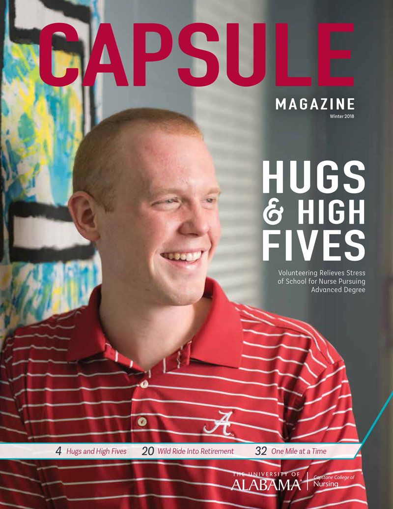 Read more about the article Hugs & High Fives: Volunteering Relieves Stress of School of Nurse Pursuing Advanced Degree