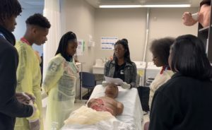 Read more about the article MS2 Autumn Beavers runs health professions course at Carver High School
