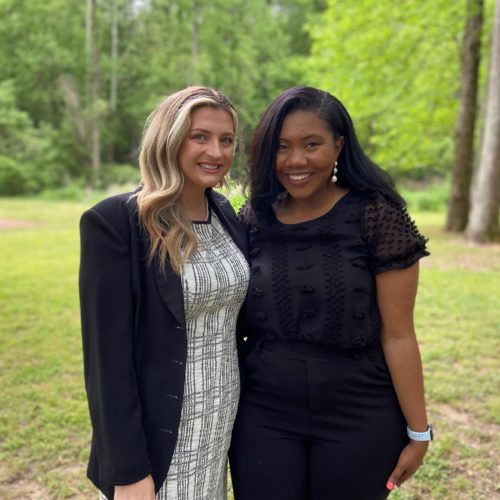 Jenai Bostic and Carolyn Grace Griffin