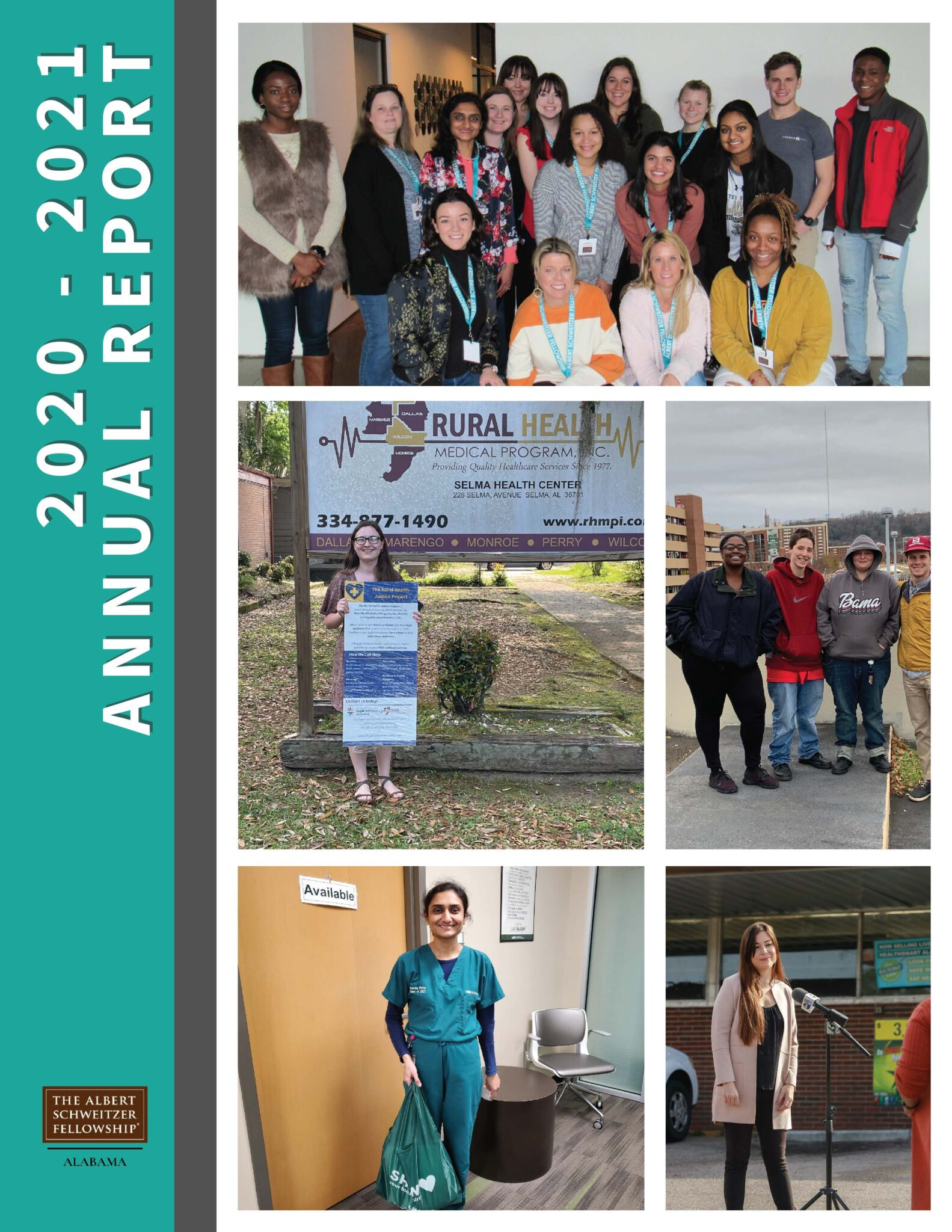 Read more about the article The Albert Schweitzer Fellowship of Alabama Releases 2020-2021 Annual Report