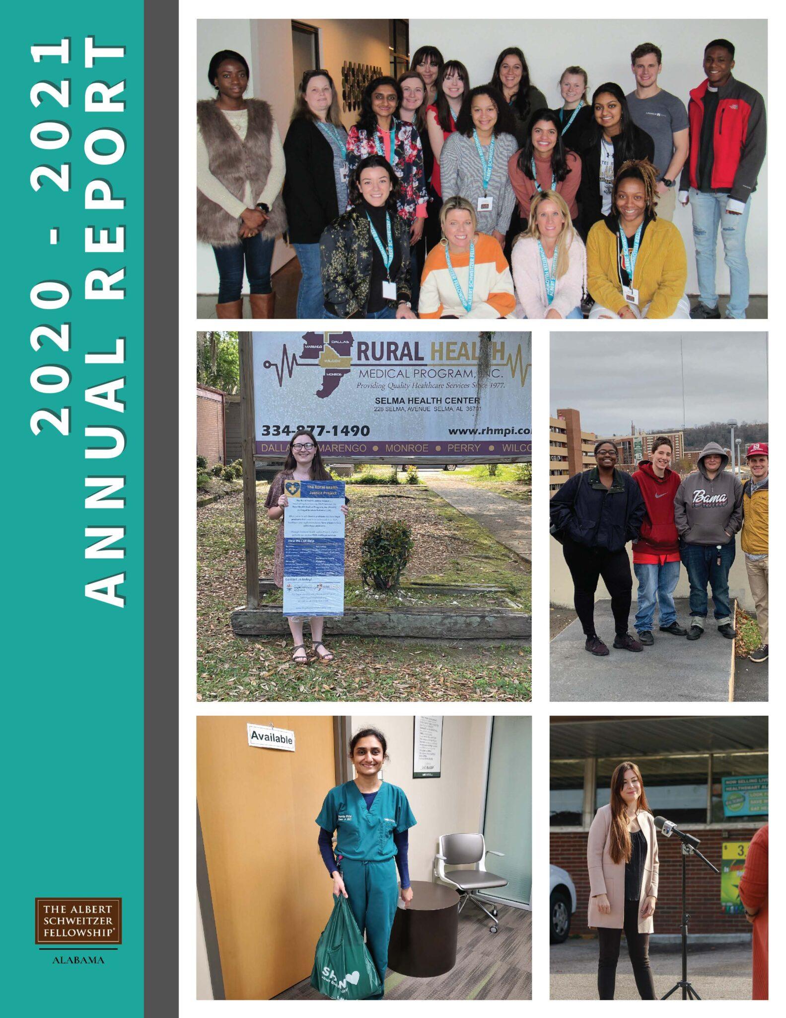 The Albert Schweitzer Fellowship of Alabama Releases 2020-2021 Annual Report
